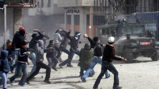 Atmosphäre der Gewalt an der Grenze in Ostjerusalem (Archiv)