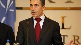 Hat als erster NATO-Generalsekretär libyschen Boden betreten: Anders fogh Rasmussen
