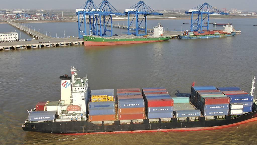Chinas Exporte machen im Dezember erneut deutlichen Sprung