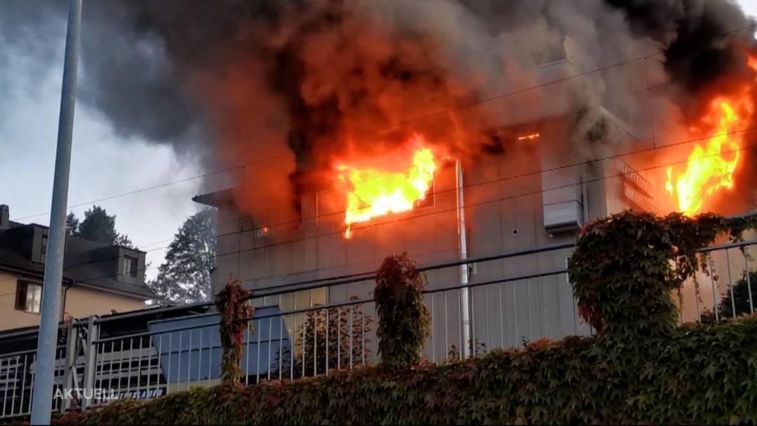 Grossbrand Beinwil laut Staatsanwaltschaft durch mangelhafte Überwachung verursacht