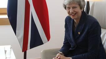 Die britische Premierministerin Theresa May wird in der Berichterstattung über den Brexit einer neuen Untersuchung zufolge am meisten zitiert. (Archivbild)