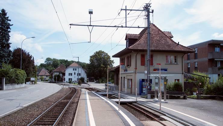 Die heutige Bahnstation kommt weg, sechs Übergänge sollen geschlossen werden.