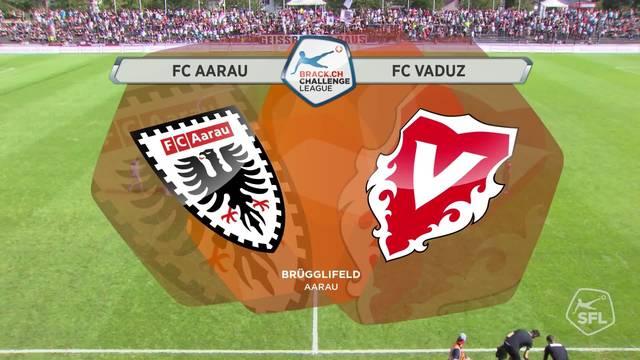 Challenge League, 2017/18, 5. Runde, FC Aarau - FC Vaduz, Alle Highlights