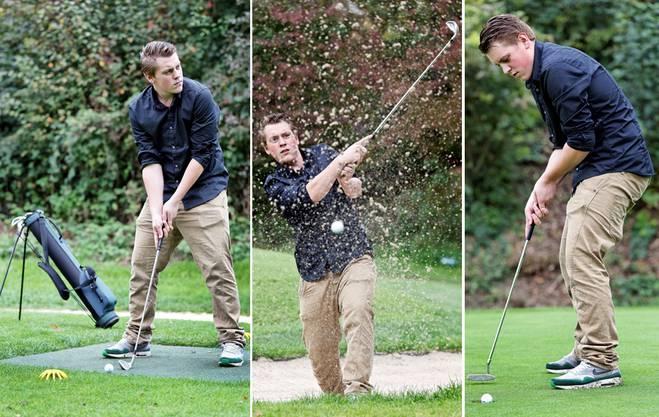 Golfen - ein Selbstversuch in Schinznach-Bad