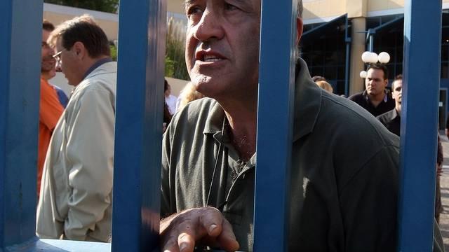 Protestierende Staatsbedienstete
