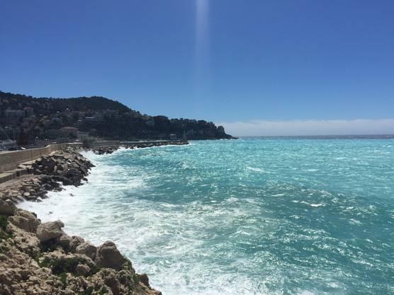Das Meer in Nizza