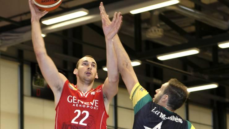 Marko Mladjan war mit 19 Punkten der erfolgreichste Schweizer Werfer (Archivbild)