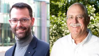 Bernhard Schmid und Oskar Matter.