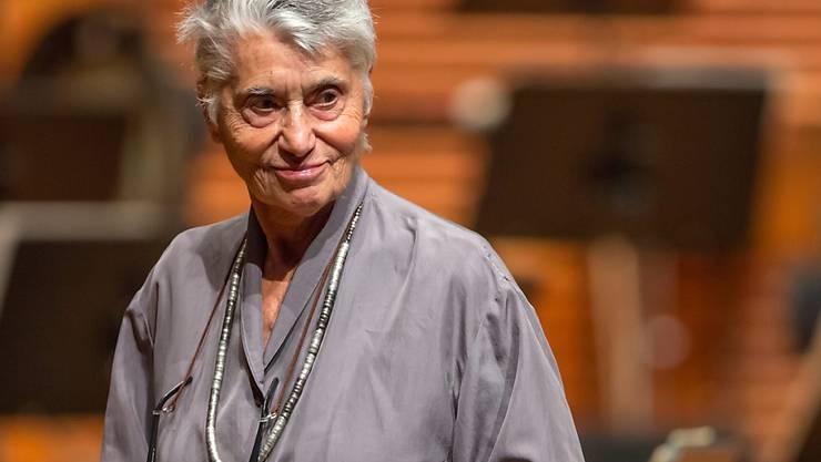 ARCHIV - Die österreichisch-amerikanische Autorin.und Literaturwissenschaftlerin Ruth Klüger ist in der Nacht zum 06.10.2020 im Alter von 88 Jahren nach langer Krankheit in Kalifornien gestorben. Foto: Michael Reichel/dpa-Zentralbild/dpa