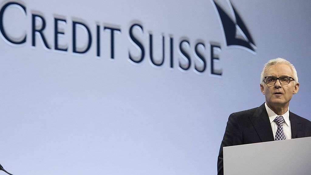 Als die Credit Suisse zwischen 2005 und 2007 am US-Hypothekenmarkt trickste, war ihr heutiger Verwaltungsratschef Urs Rohner Chefjurist der Bank. Unter anderem deswegen lehnt Ethos seine Wiederwahl ab. (Archiv)