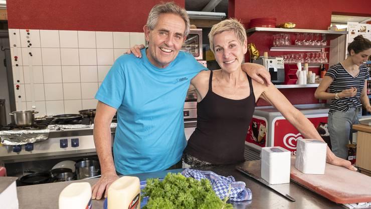 Seit 13 Jahren führen Lynne und Reto Demarmels den Campingplatz