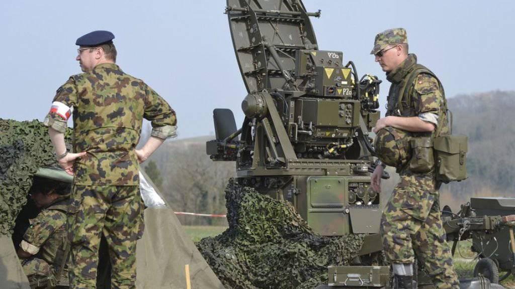 Die Armee bekommt in den nächsten vier Jahren 20 Milliarden Franken (Archiv).