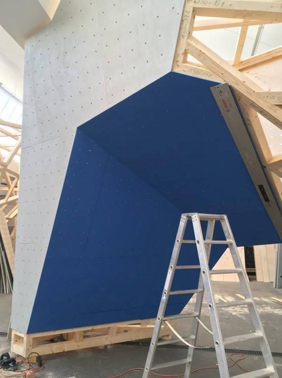 Bau neuer Boulderhalle (© zVg)