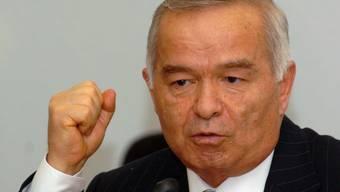 Der usbekische Präsident Islam Karimow (Archiv)