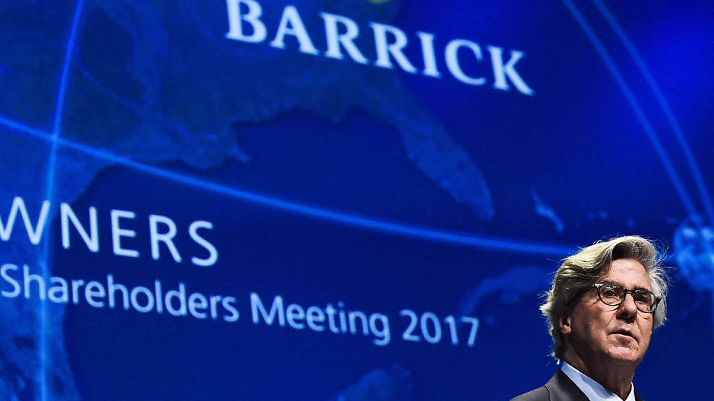Fusion zum Branchenprimus im Goldminen-Industrie: Barrick Gold will sich mit über 6 Milliarden Dollar am Konkurrenten Randgold Resourcen beteiligen. (Archiv: Barrick CEO John L. Thornton)