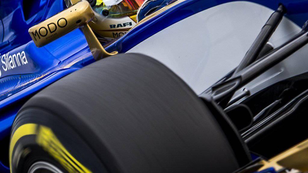 Noch nicht fit für einen Renneinsatz: Sauber-Fahrer Pascal Wehrlein (hier im freien Training des GP Australien)