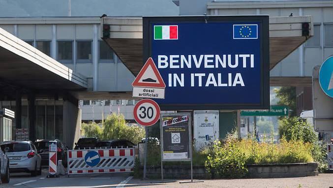 Viele wollen nach der Öffnung der Grenzen nach Italien.