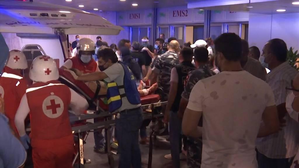 Nach Explosion: Krankenhäuser in Beirut stoppen Corona-Tests
