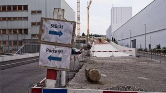Voraussichtlich im Oktober dieses Jahres soll die neue Autobahnauffahrt in Richtung Zürich und Bern in Kleinhüningen fertig sein.