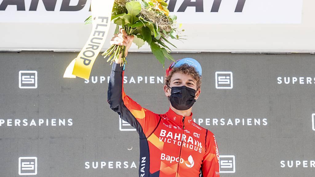 Gino Mäder brillierte zum Abschluss der Tour de Suisse in Andermatt: Nach Rang 3 im Zeitfahren am Samstag gewann der Berner am Sonntag die Königsetappe