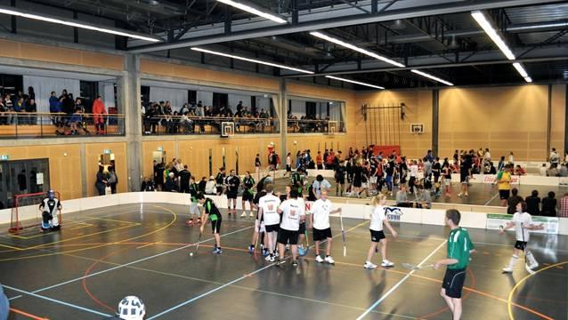 Spass wird am Christmas Cup grossgeschrieben. Quelle: TSV Deitingen