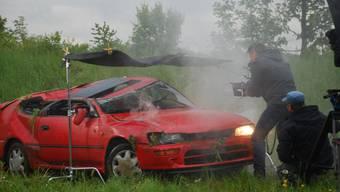 KAPO Solothurn dreht einen Film zum Thema «Verkehrsunfall