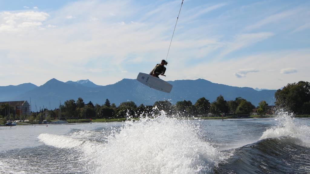 Aus dem Nichts: Arboner wird Schweizer Wakeboard-Meister