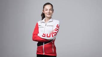 Die 15-jährige Sportschülerin Anna la Porta überzeugt in Russland.