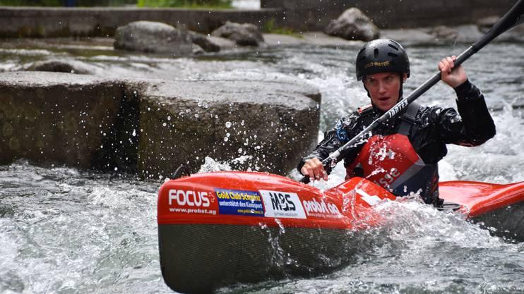 Melanie Mathys holte sich in Brugg den Gesamtsieg im Wintercup.