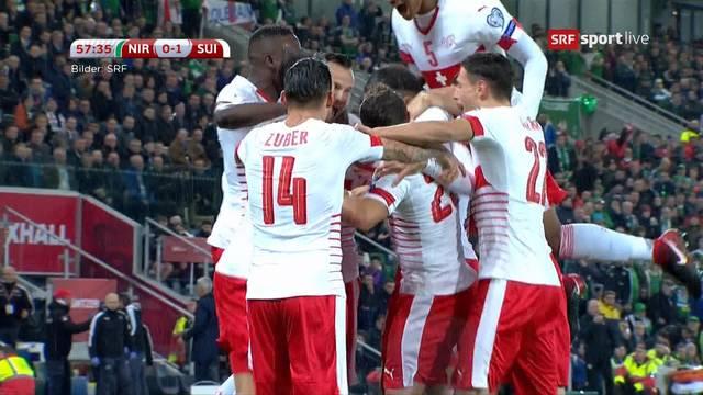 Glück gehabt: Schweiz holt Penalty-Sieg