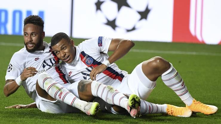 Jubeln Neymar und Kylian Mbappé auch heute für PSG?