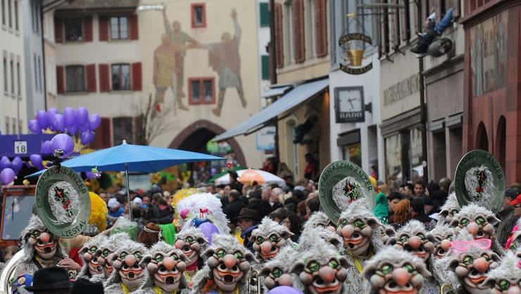 Bis jetzt feierten Liestals Fasnächtler ohne nationale Unterstützung. Das will der Fasnachtverband Schweiz ändern. Archiv/Juri Junkov