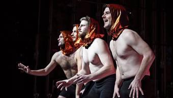 Entfernen sich von Don Juans «immer stark sein», das ihnen zu Beginn Messlatte war: Simon Labhart, Stephan Eberhard, Mirza Šavić, Matthias Koch (v.l.).