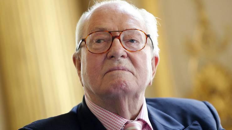Zunehmend ein politisches Risiko für den Front National: Partei-Gründer Jean-Marie Le Pen.