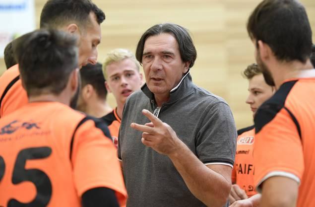 Aus dem TV Möhlin machte Zoltan Cordas ein Team, das im oberen Tabellendrittel mitspielen kann.