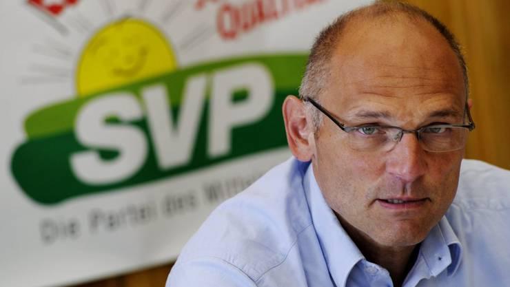 Klares Nein zur kantonalen Vorlage: Die SVP zieht unter Alfred Heer an einem Strang.