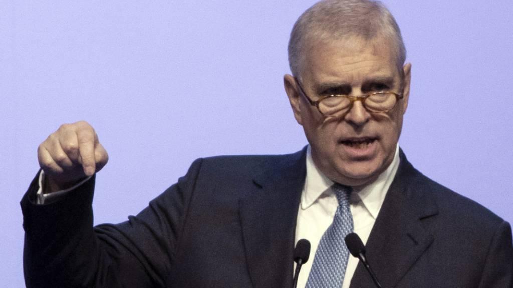 Prinz Andrew «verblüfft» über Einladung zu Aussage zu Epstein