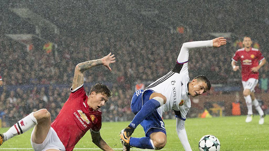 Der FC Basel wehrte sich gegen Manchester United nach Kräften, bezog letztlich aber eine klare Niederlage