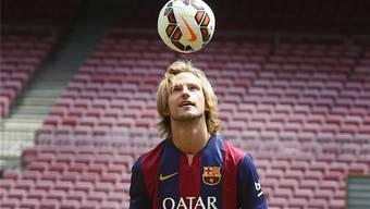 Ivan Raktic, aktueller Spieler des FC Barcelona, ist unter anderem in diesem Whatsapp-Chat.