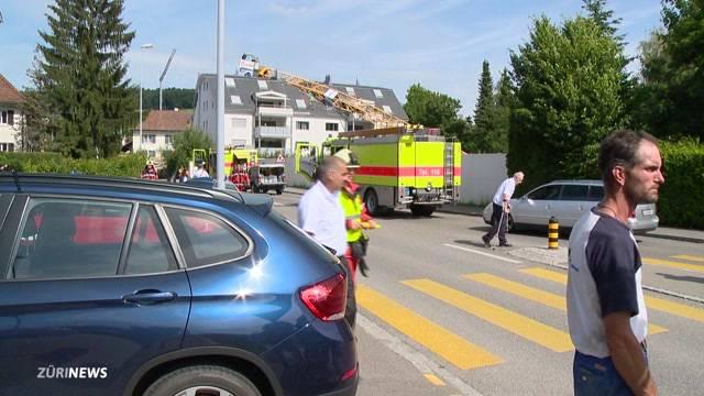 Augenzeugin berichtet vom Kranunfall in Urdorf