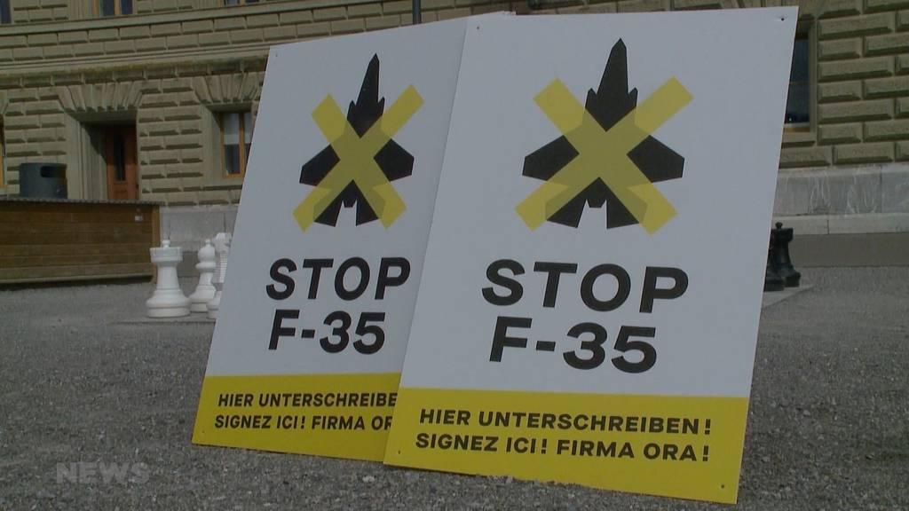 SP und Grüne wollen F-35-Kampfjets mit Volksinitiative verhindern