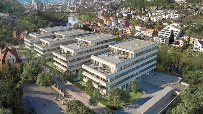 So wird die Überbauung an der Römerstrasse aussehen: 2,65 Mio. Franken kostet eine 5,5-Zimmer-Wohnung.
