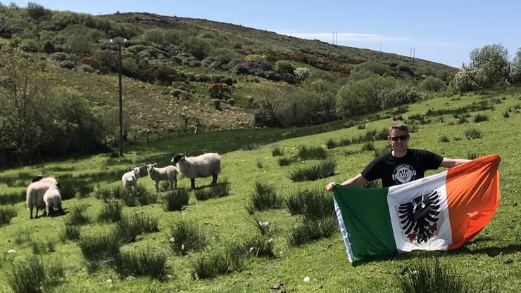 FCA-Fan Roger Kündig wohnt in Irland. Für den Barrage-Endspurt seines Vereins reist er extra in die Schweiz
