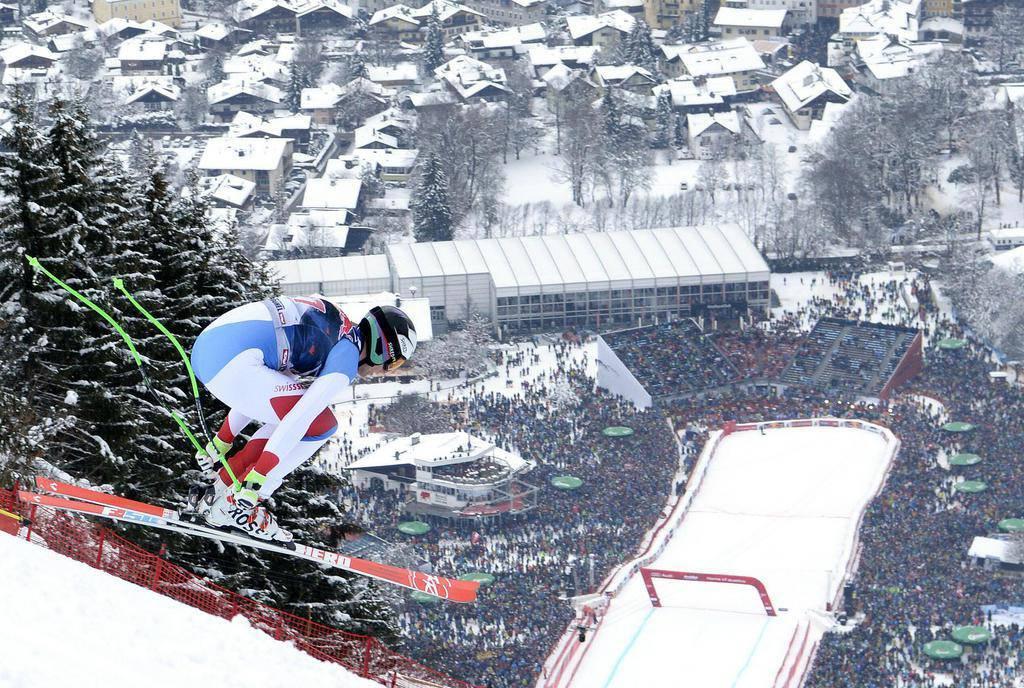 Marc Gisin in Aktion! (© Keystone)