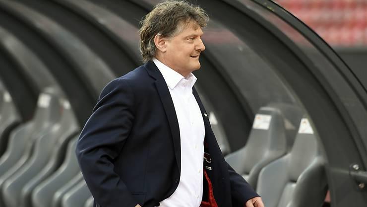 Ancillo Canepa bleibt Präsident des FC Zürich und strebt mit den Zürchern den sofortigen Wiederaufstieg an