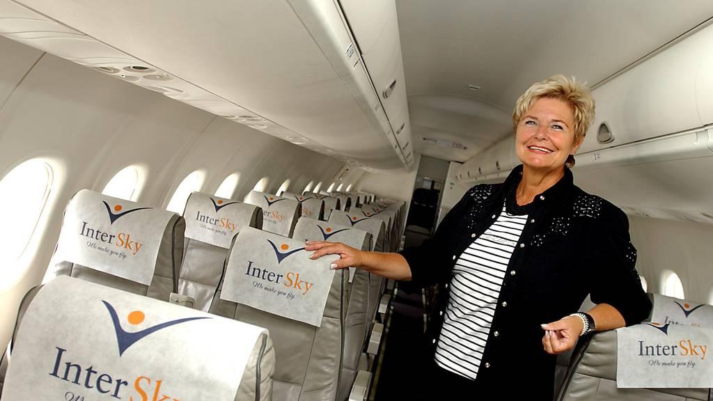 Renate Moser, Geschäftsleiterin von InterSky.