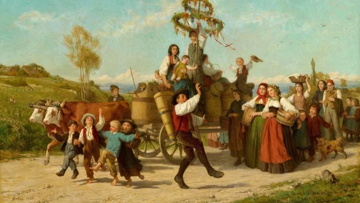 «Winzerfest»: Das Gemälde wechselt für 4,2 Millionen Franken den Besitzer.