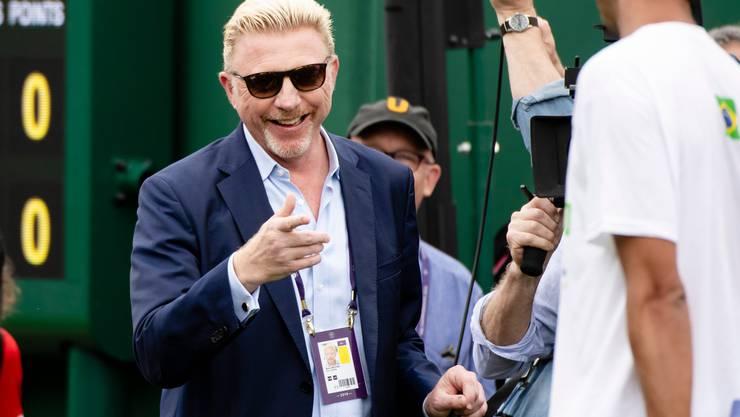 Boris Becker stimmt ein Loblied auf Roger Federer an.