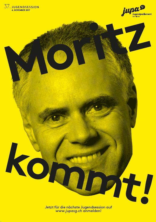Moritz Leuenberger ist einer von mehreren prominenten Gästen an der Jugendsession in St.Gallen. (Bild: Jugendparlament)