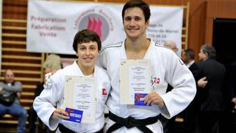 Evelyne Tschopp und Ciril Grossklaus vertreten die Schweiz an der Judo-WM.